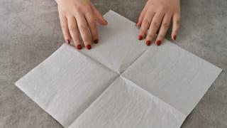 Étape 1: Prenez la serviette en papier