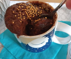 Mugcake au chocolat: la recette facile au micro-ondes