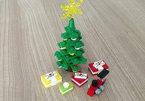 Un sapin de Noël LEGO