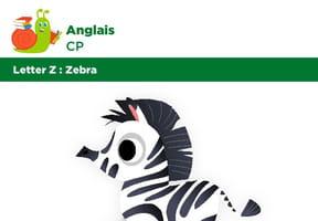 Abécédaire CP Anglais lettre Z