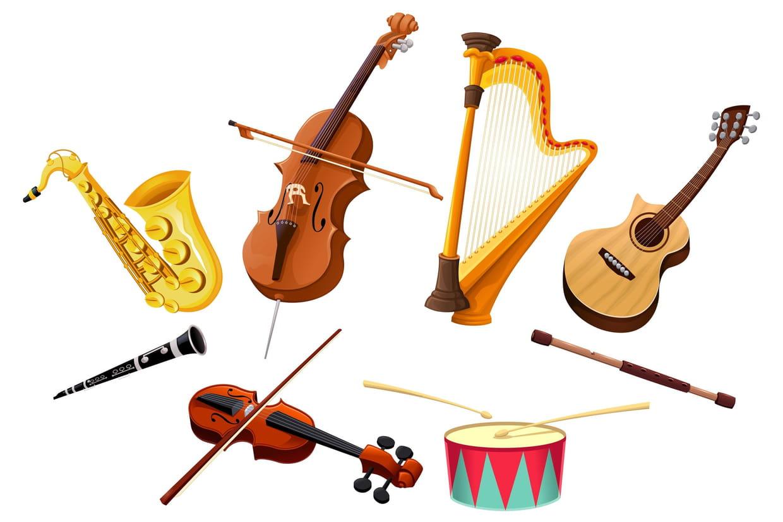 Coloriage Instruments De Musique à Imprimer Sur Hugolescargotcom