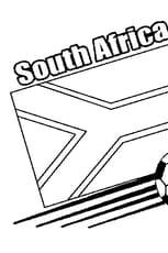 Coloriage Afrique du Sud 2010