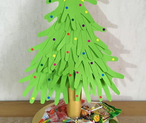Centre de table sapin de Noël [VIDEO]
