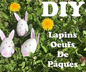 Lapins œufs de Pâques