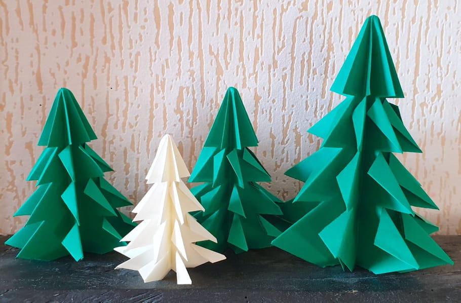 Tutoriel Origami Sapin Pliage De Sapin En Papier En Vidéo