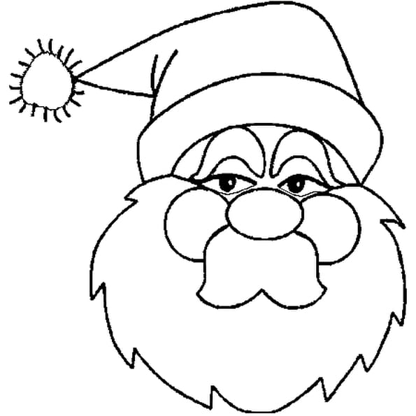 Image p re no l coloriage image p re no l en ligne gratuit a imprimer sur coloriage tv - Dessin pere noel a colorier ...