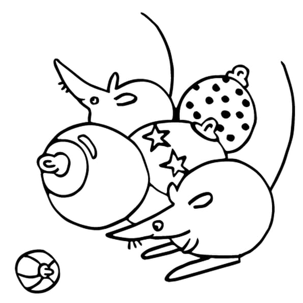 Des boules de noel coloriage - Images boules de noel a colorier ...