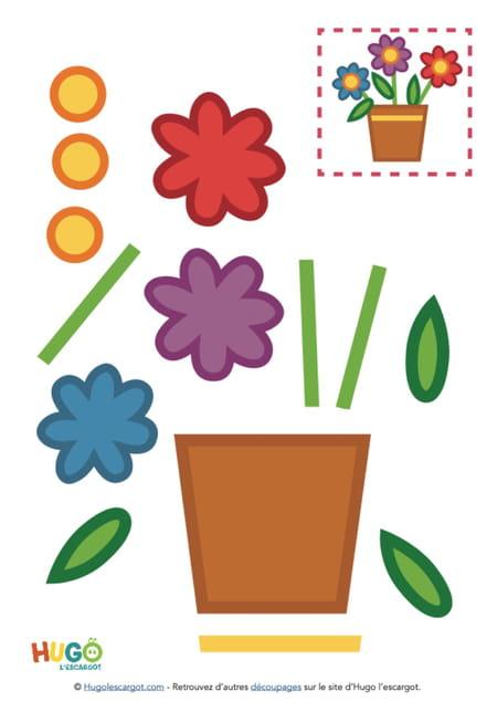 poterie-de-fleurs-des-champs-a-decouper