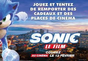 Concours Sonic, le film