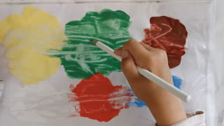 C'est terminé, vous savez comment faire de la peinture propre Montessori
