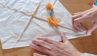 Étape 3: découpez la voile du cerf-volant