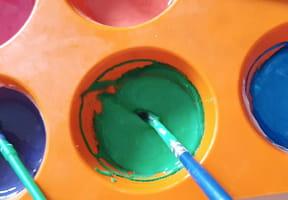 Peinture au yaourt pour enfants [VIDEO]