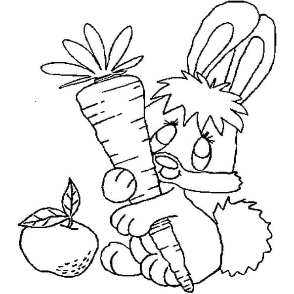 Coloriage b b lapin en ligne gratuit imprimer - Lapin en dessin ...