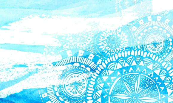 Coloriage Mandala de la Mer