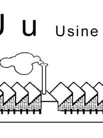 lettre U comme usine
