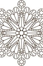 Coloriage Mandala de coeur