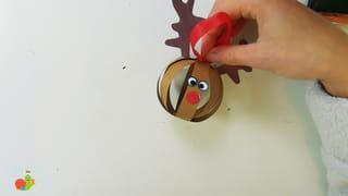 Boule de Noël renne Étape 9