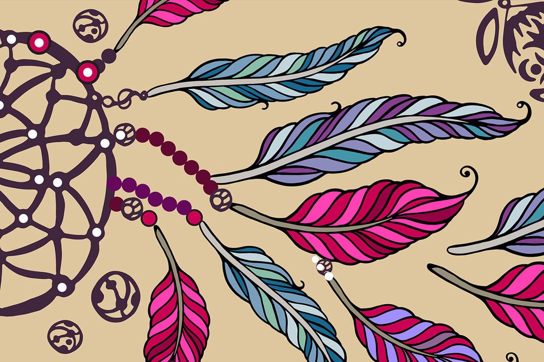 Coloriage Mandala Attrape Rêves Sur Hugolescargot Com