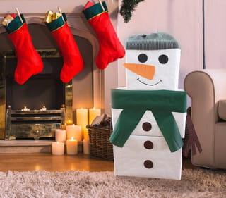 Le tutoriel du bonhomme de neige cadeaux est terminé