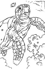 Coloriage Tortue Mer
