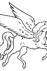 Coloriage Cheval Volant