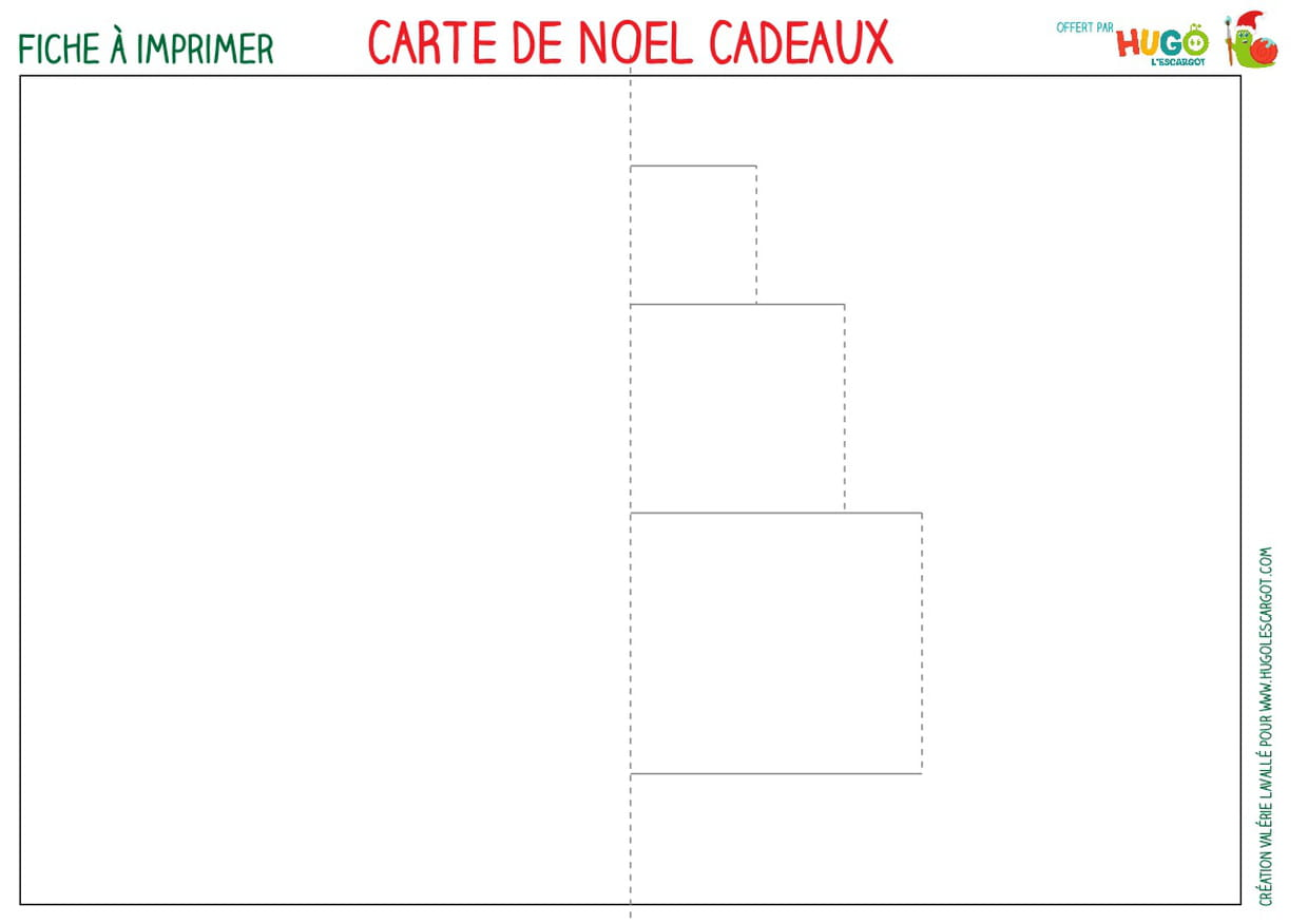 Carte Pop Up cadeaux de Noël [VIDEO]