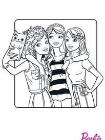 Barbie Fashionistas, le selfie