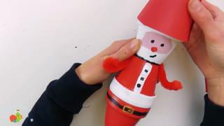 Père-Noël en terre-cuite - Étape 12