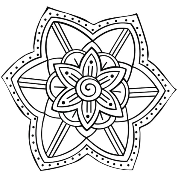 Mandala jardin coloriage mandala jardin en ligne gratuit - Mandala a imprimer gratuit ...