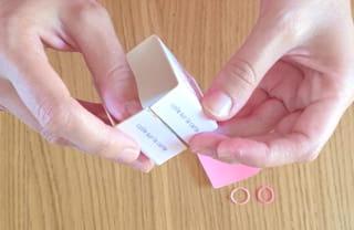 Étape 3: pliez la bande de carton
