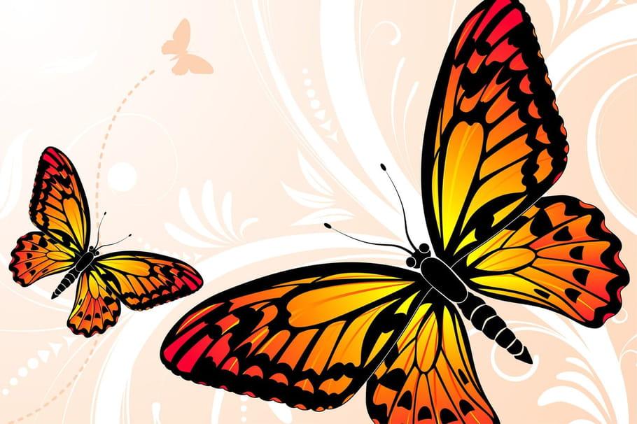 Comptine Petit papillon