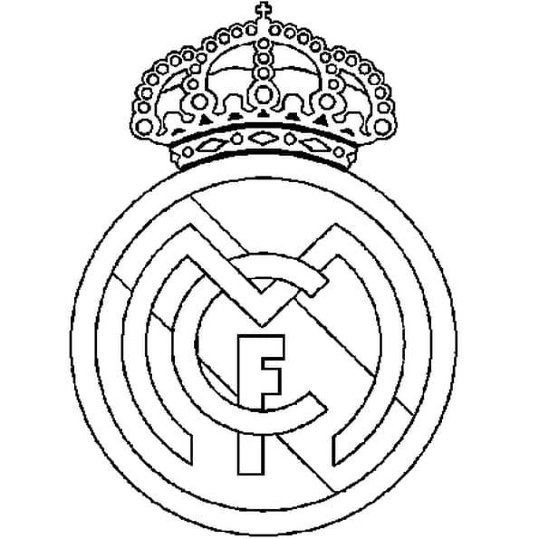 Coloriage Real Madrid En Ligne Gratuit à Imprimer