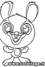 Coloriage Zooble Lapin