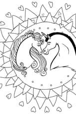 Coloriage D Une Princesse Avec Son Licorne