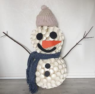 La petite finale du bonhomme de neige