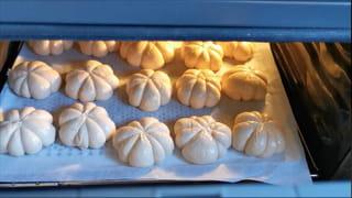 Étape 4: cuisson des petits pains
