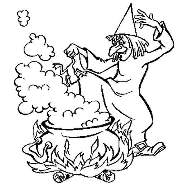 Dessin sorci re - Jeux de sorciere potion magique gratuit ...