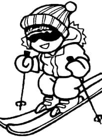 image de ski