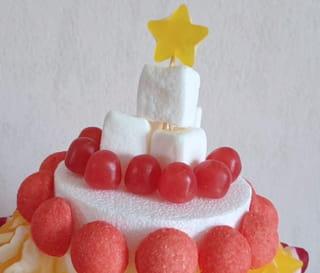 Étape 4: finir le dessus du gâteau