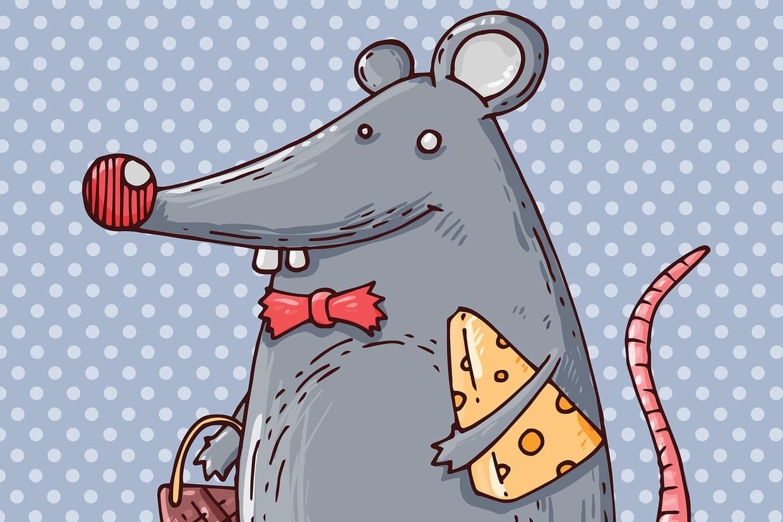 Coloriage souris et fromage sur - Coloriage souris ...