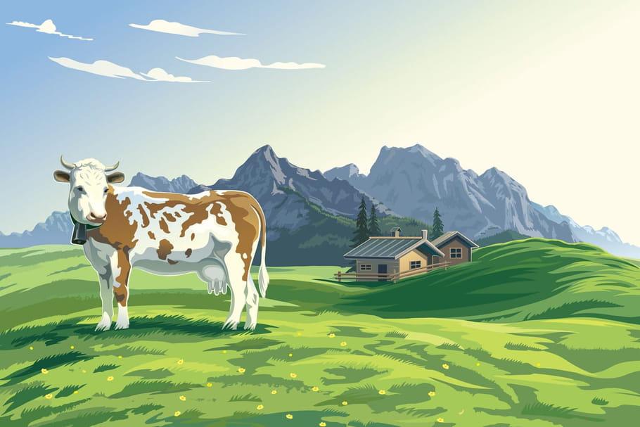 Comptine Si la Terre était une vache