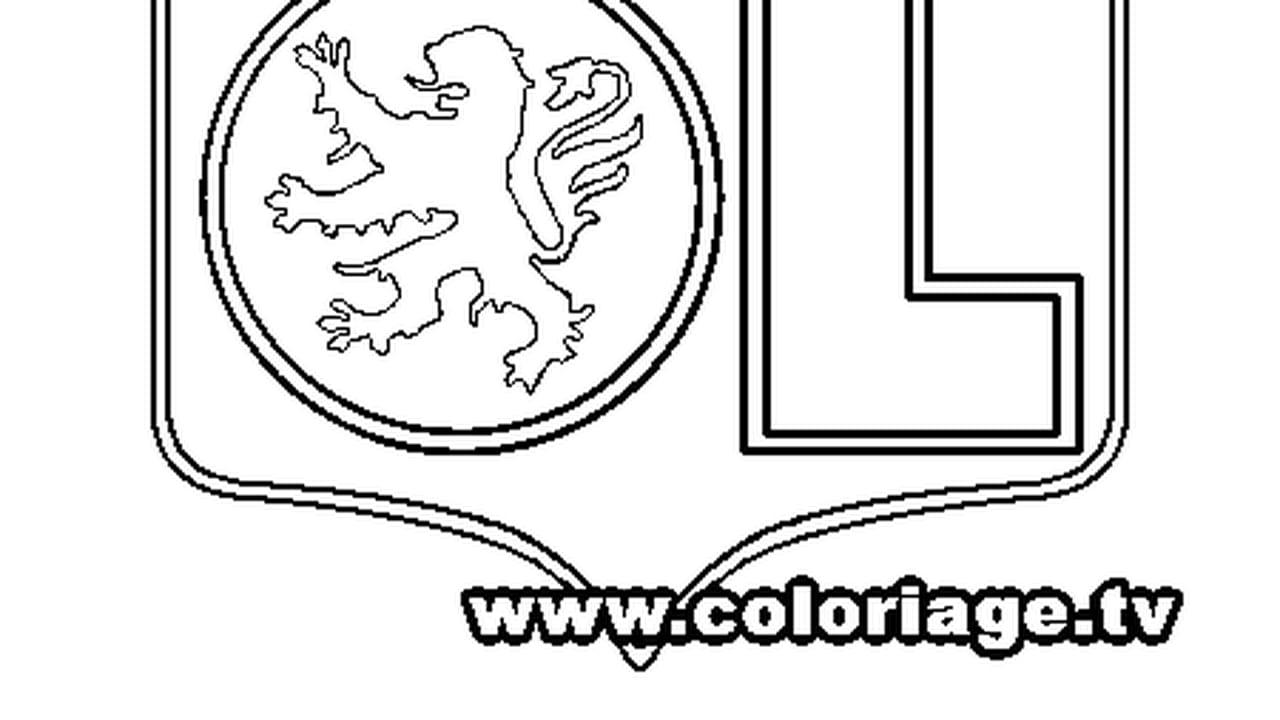 Coloriage Foot Ol.Coloriage Ol En Ligne Gratuit A Imprimer