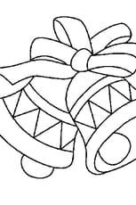 Coloriage cloches pâques en Ligne Gratuit à imprimer