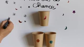 Étape 5: décorer le mur de la chance