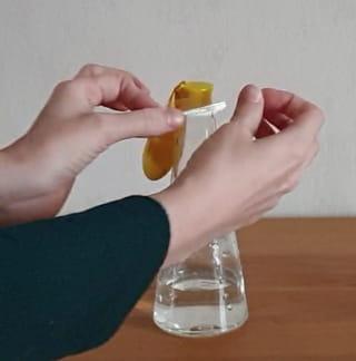 Étape 3: Placez le ballon sur la bouteille