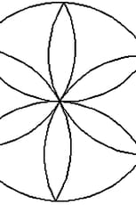 Coloriage Mandala rosace