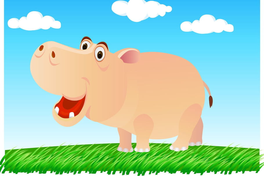 Comptine L'hippopotame