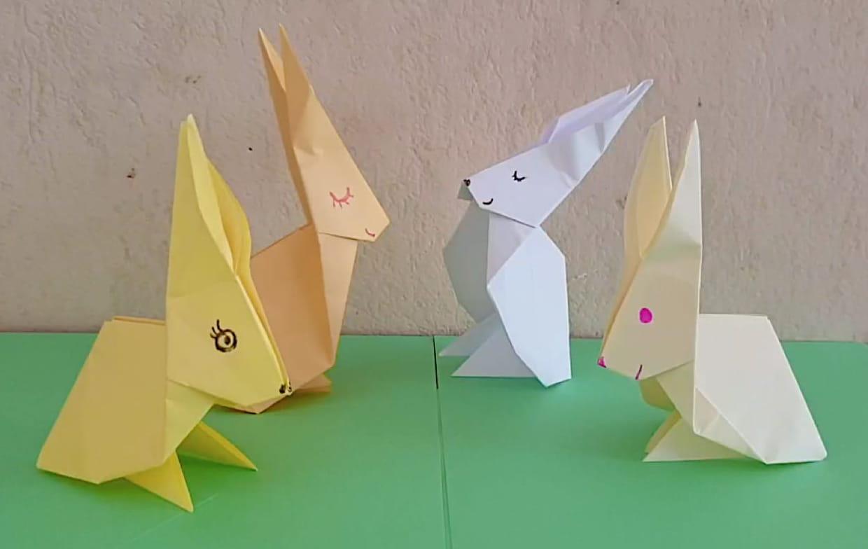 Tutoriel Origami Lapin Pliage D Un Lapin En Papier En Vidéo