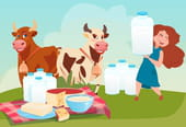 La laitière et le pot au lait