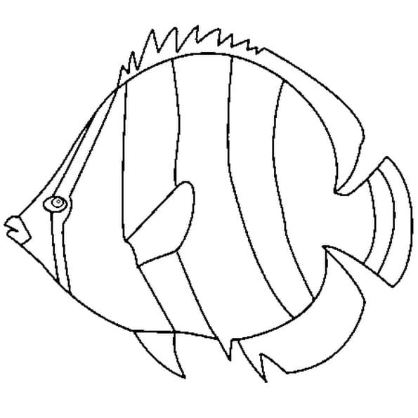 Coloriage poisson d 39 avril 3 en ligne gratuit imprimer - Poisson d avril a imprimer gratuit ...